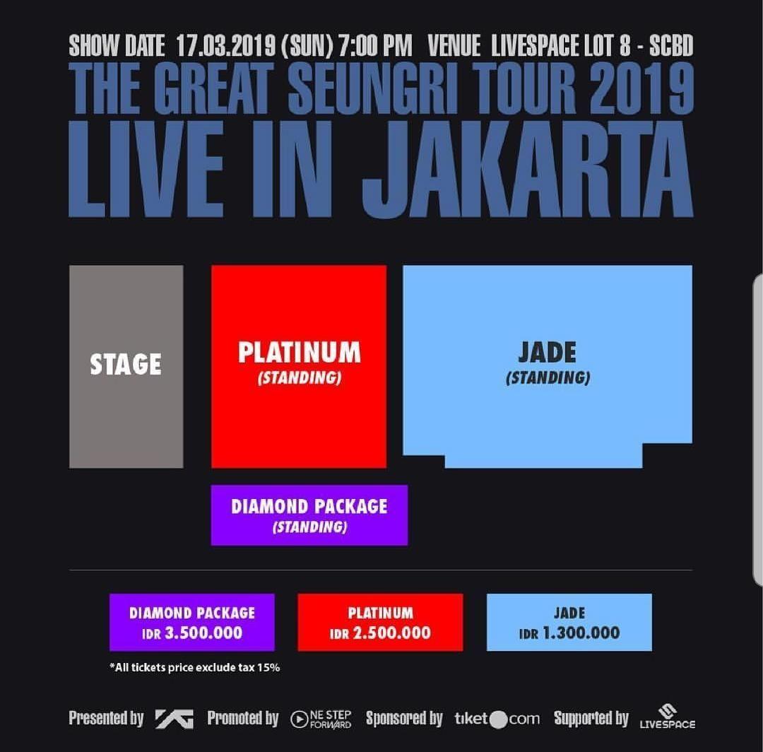 Seungri Bigbang Tutup Konser Solonya di Jakarta Sebelum Wamil