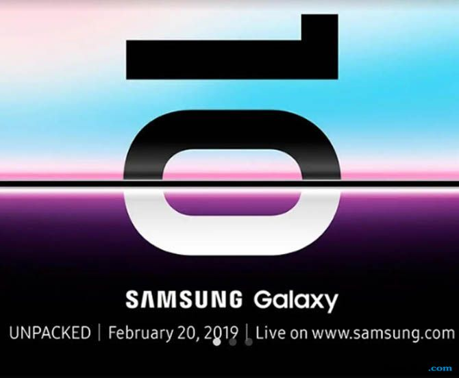 Samsung Galaxy S10, Samsung Galaxy S10 meluncur, Samsung Galaxy S10 bocoran
