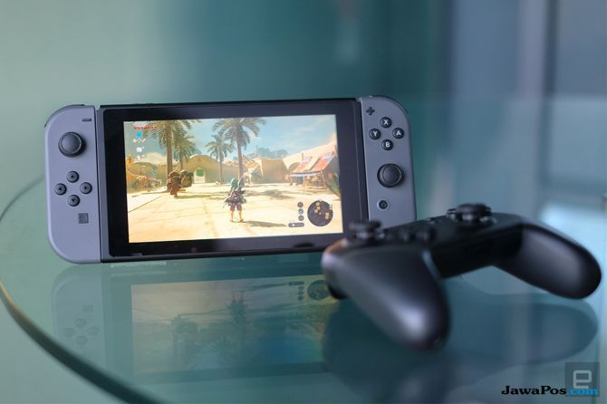Nintendo Switch, Nintendo Switch pembaruan,Nintendo Switch Salip Microsof Xbox