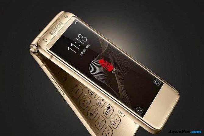 Samsung W2018, Samsung W2019 bocoran, Smartphone lipat Samsung W2019