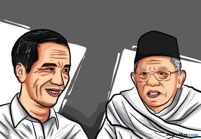 Jokowi-KH Ma'Ruf Amin