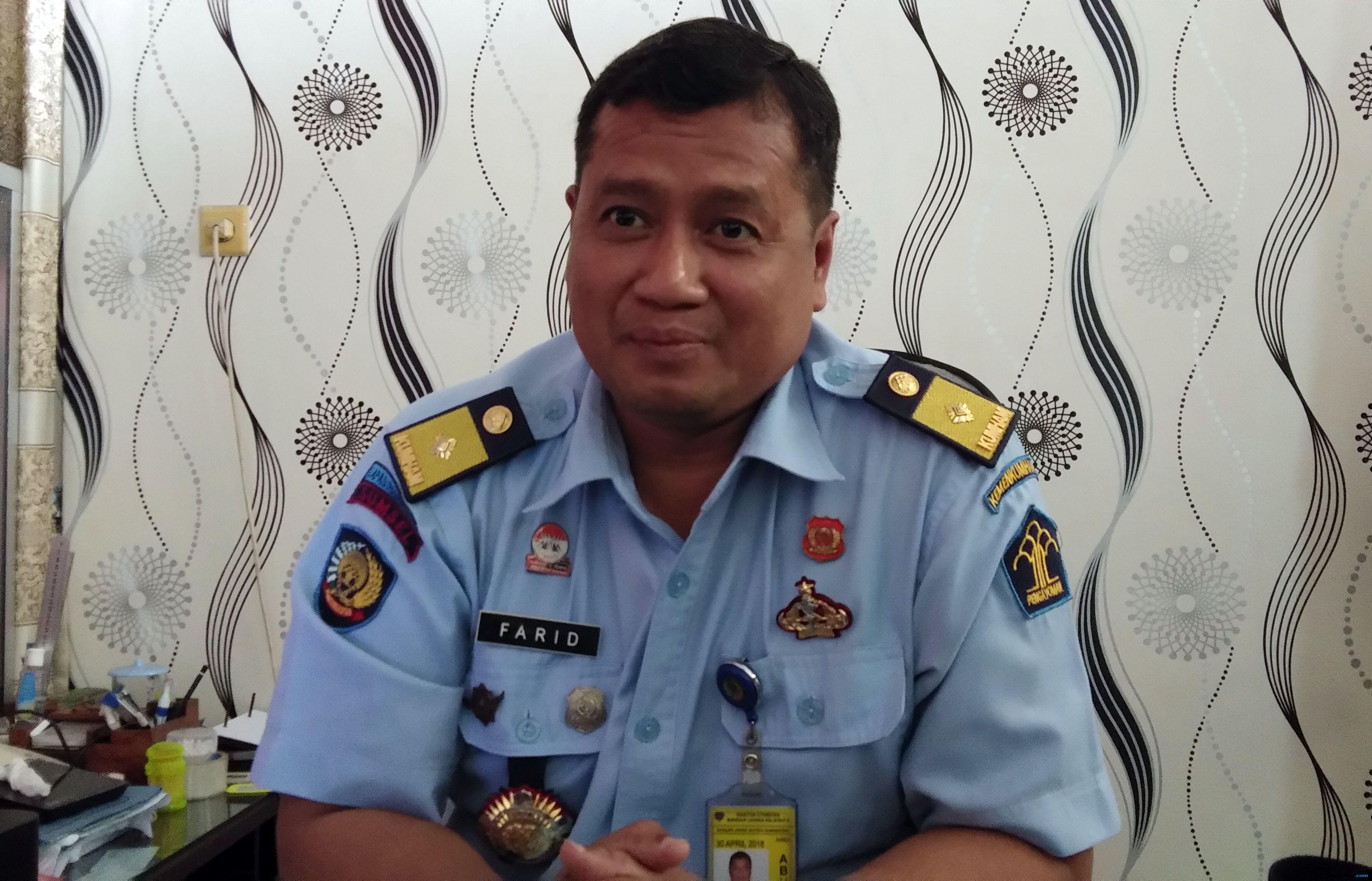 Kepala Lapas (Kalapas) Klas I Malang, Farid Junaedi.