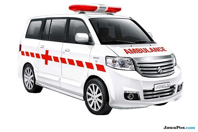 Suzuki Donasi Ambulance APV dan Unit Motor Smash
