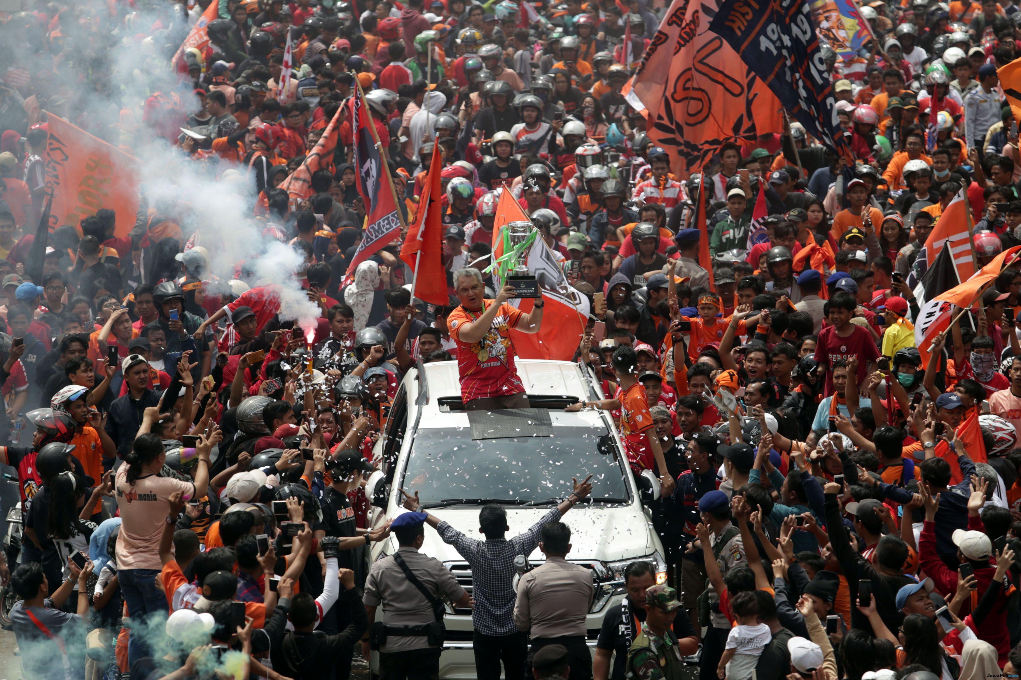 Tagih Janji ke Gubernur, Jakmania: Stadion Mana Pak Anies
