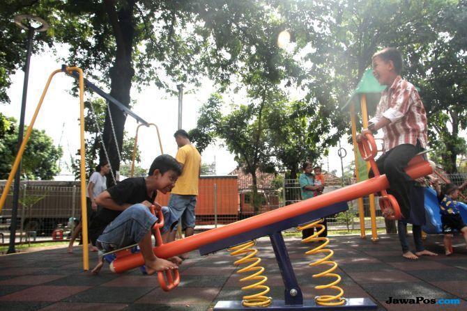 Taman Maju Bersama 'Anies' Lebih Bervariatif Dibanding RPTRA 'Ahok'