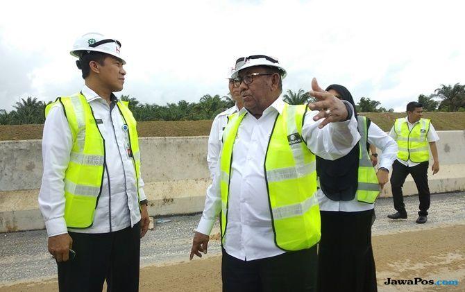 Target 2019 Rampung, Pengerjaan Tol Pekanbaru-Dumai Capai 40 Persen