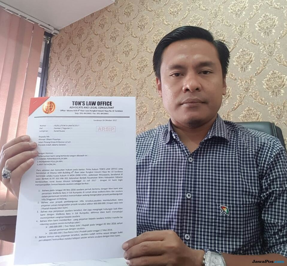Terjerat Utang, Ahmad Dhani akan Dilaporkan ke Polda Jatim