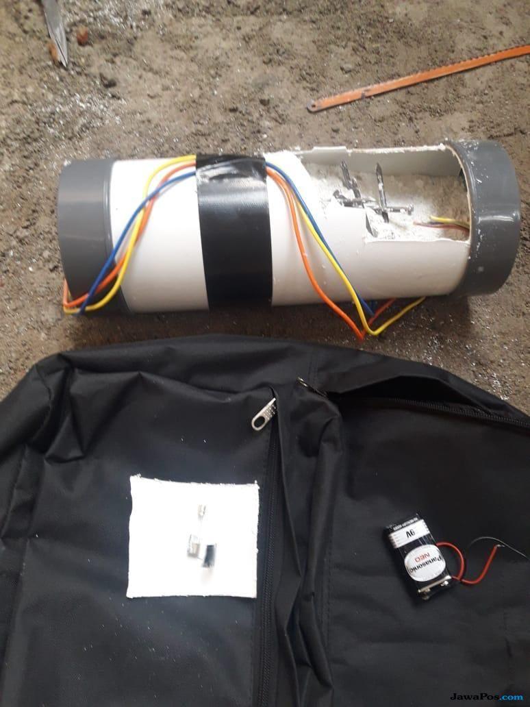 Teror Bom di Rumah Ketua KPK, Polisi: Ada Semen Putih