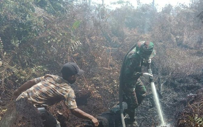 Tiga Bulan, Hampir 2 Ribu Hektare Lahan Terbakar di Riau