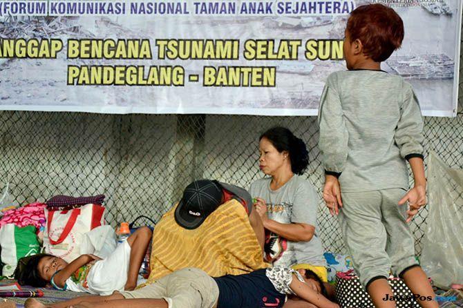 Tinggi Gunung Anak Krakatau Berkurang, Potensi Tsunami Mengecil