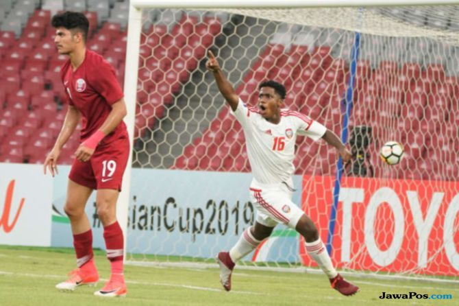 UEA, Qatar, Piala Asia U-19 2018