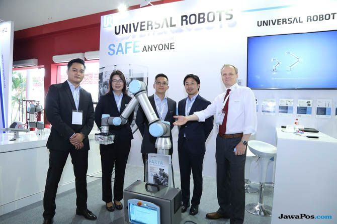 Universal Robots, Roadmap Making Indonesia 4.0, Universal Robots Industri 4.0