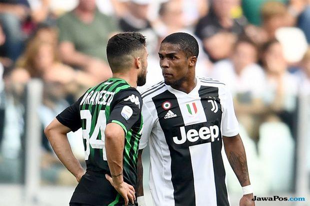Juventus, Douglas Costa, Di Francesco, Juventus, Sassuolo