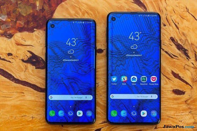 Samsung Galaxy S10, Samsung Galaxy S10 Keramik, Samsung Galaxy S10 meluncur
