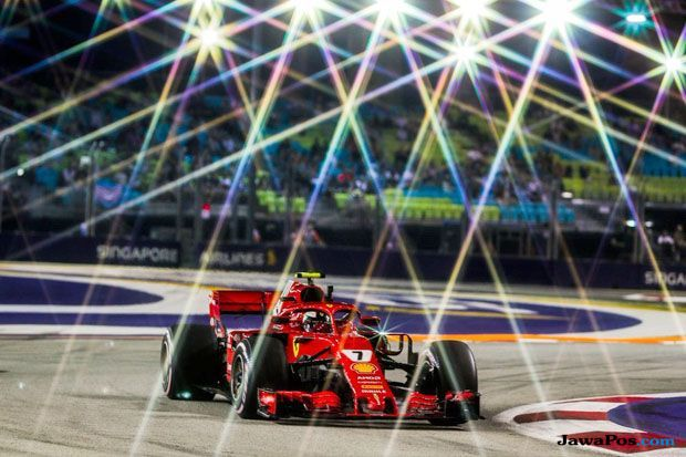 Formula 1 2018, F1, GP SIngapira, Sebastian Vettel, Kimi Raikkonen, Lewis Hamilton, Vaktteri Bottas, Daniel Ricciardo, Max Verstappen, Fernando Alonso