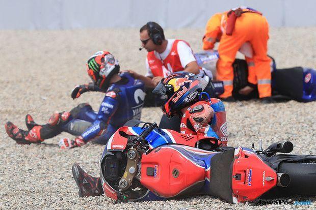 MotoGP 2018, MotoGP Republik Ceko, Lorenzo, Dovizioso, Rossi, Vinales, Marquez, Pedrosa, Zarco