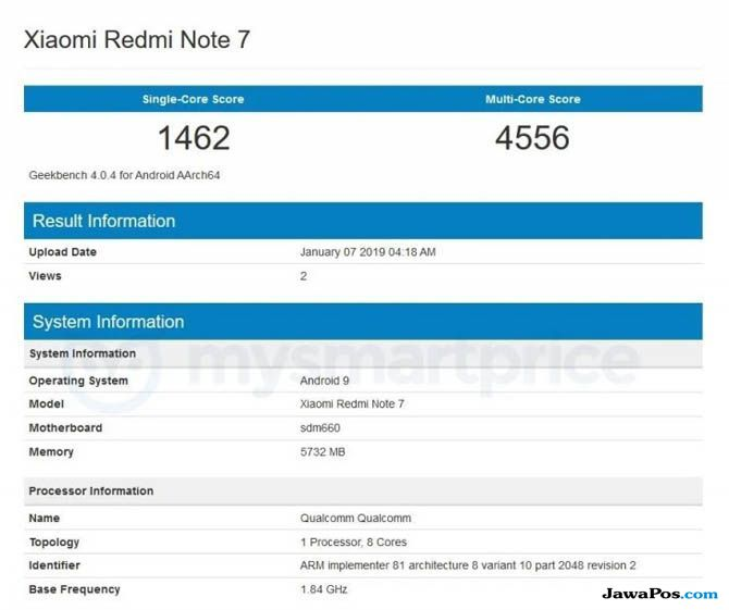 Xiaomi Redmi Note 7, Redmi Note 7, Redmi Note 7 bocoran