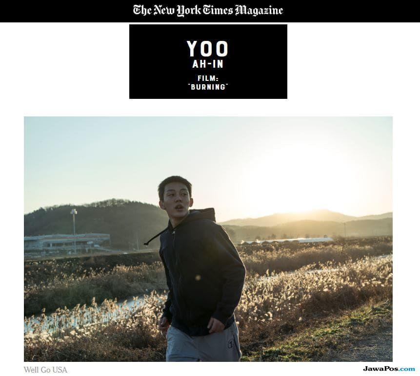 Yoo Ah In Jadi Aktor Terbaik Asia Pertama Versi New York Times